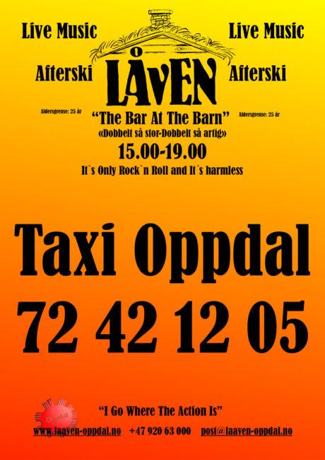Låven-Taxi Oppdal 2021-